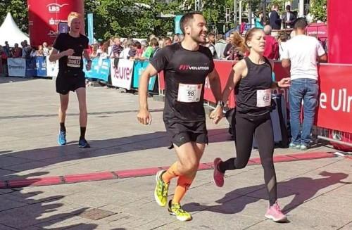 Einstein Marathon 2019 Zieleinlauf