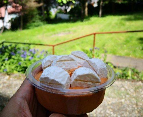 Mein Favorit - Harzer Käse mit Hummus